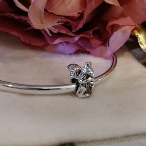 🎈5/$35 Squirrel S925 Sterling Silver Charm